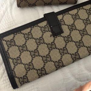 Gucci Check Wallet